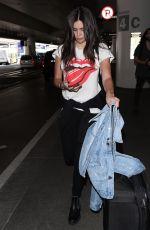 SARA SAMPAIO at Los Angeles International Airport 06/07/2018
