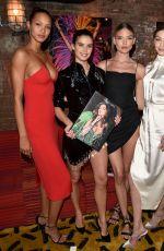 SARA SAMPAIO, LAIS RIBEIRO and JOSEPHINE SKRIVER at Backstage Secrets: A Decade Behind the Scenes at Victoria
