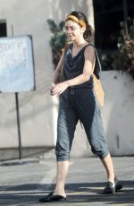 SARAH HYLAND Heading to Dance Class in Studio City 06/14/2018