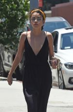 SARAH HYLAND Leaves a Spa in Los Angeles 06/25/2018