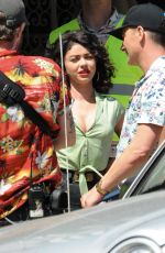 SARAH HYLAND on the Set of The Wedding Year in Hollywood 06/01/2018