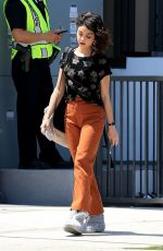 SARAH HYLAND on the Set of The Wedding Year in West Hollywood 05/31/2018