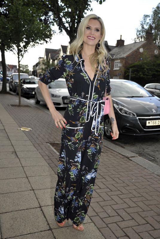 SARAH JAYNE DUNN Arrives at Terance Paul Salon Launch in Hale 06/16/2018