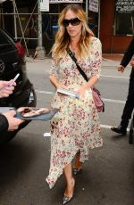 SARAH JESSICA PARKER Arrives at Today Show in New York 06/13/2018