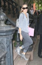 SARAH JESSICA PARKER Leaves Her Home in New York 06/13/2018