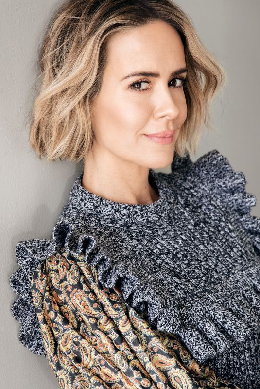 SARAH PAULSON for S Magazine, Summer 2018 Issue