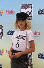 SARAH ZERAFA at Isle of MTV Press Conference in Malta 06/27/2018
