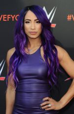 SASHA BANKS at WWE FYC Event in Los Angeles 06/06/2018