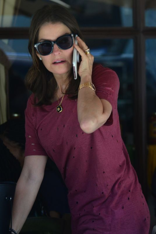 SELA WARD at Il Pistaio Restaurant in Beverly Hills 06/11/2018