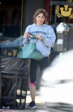 SELMA BLAIR Arrives at a Gym in Los Angeles 06/01/2018
