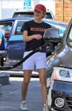 SELMA BLAIR at a Gas Station in Studio City 06/09/2018