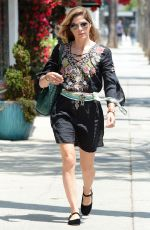 SELMA BLAIR Out and About in Los Angeles 06/06/2018