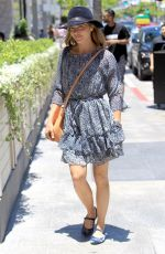 SELMA BLAIR Out for Lunch at Avra in Beverly Hills 06/26/2018