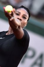 SERENA WILLIAMS at French Open Tennis Tournament 2018 in Paris 05/31/2018