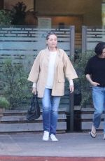 SHANNEN DOHERTY Leaves a Restaurant in Malibu 05/31/2018