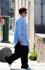 SHARON and AIMEE OSBOURNE Take a Taxi Boat in Venice 06/20/2018