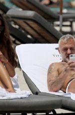 SHARON FONSECA in Bikini on the Beach in Miami 06/19/2018