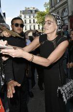 SHARON STONE Arrives at Paris Art and Movie Awards Ceremony 06/25/2018