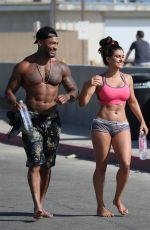 SHAWNA CRAIG Workout at Muscle Beach in Venice Beach 06/13/2018