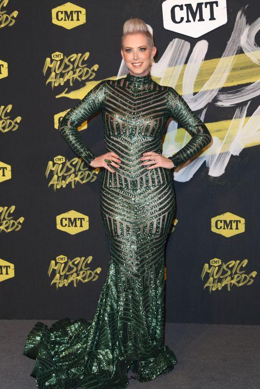 SHAWNA THOMPSON at CMT Music Awards 2018 in Nashville 06/06/2018