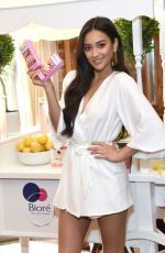 SHAY MITCHELL at Launch of New Biore Limited Edition Citrus Crush Pore Strips in New York 06/19/2018