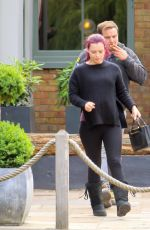 SHONA MCGARTY Out for Lunch in London 06/21/2018