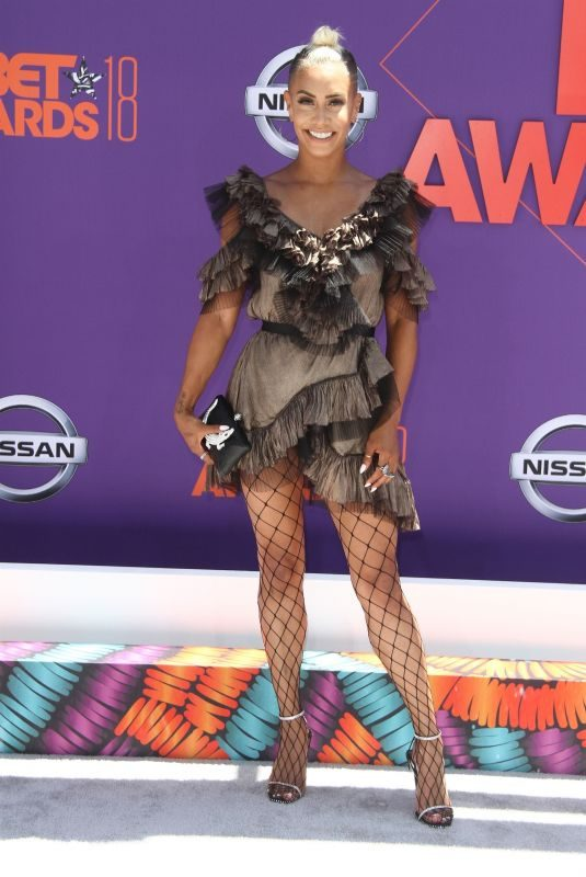 SIBLEY SCOLES at BET Awards in Los Angeles 06/24/2018