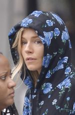 SIENNA MILLER Heading to Yoga Class in New York 06/07/2018