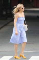 SIENNA MILLER Out and About in New York 06/08/2018