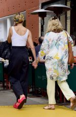 SIENNA MILLER Out for Lunch at Balthazar in New York 06/01/2018