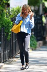 SIENNA MILLER Out in New York 06/08/2018