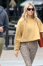 SIENNA MILLER Out in New York 06/11/2018