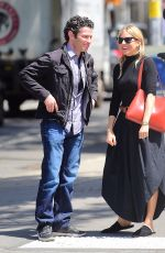 SIENNA MILLER Out to Lunch in New York 06/11/2018