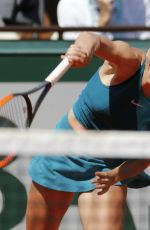 SIMONA HALEP at 2018 French Open Tennis Tournament 06/07/2018