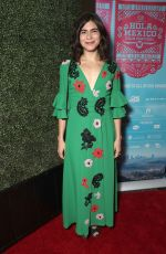 SOFIA ESPINOSA at Hola Mexico Film Festival Opening Night in Los Angeles 06/01/2018