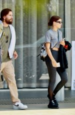 SOFIA RICHIE and Scott Disick Out for Lunch in Los Angeles 06/07/2018
