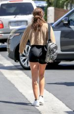 SOFIA RICHIE in Tight Shorts Out in Beverly Hills 06/01/2018