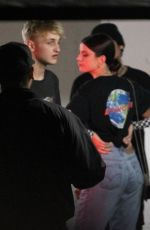 SONIA BEN AMMAR and Anwar Hadid Out in West Hollywood 06/19/2018
