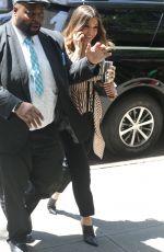 SOPHIA BUSH Arrives at Her Hotel in New York 06/12/2018