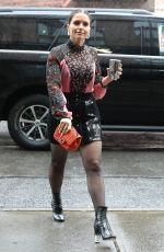 SOPHIA BUSH Arrives at Her Hotel in New York 06/13/2018