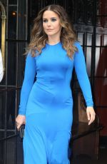 SOPHIA BUSH Leaves Bowery Hotel in New York 06/13/2018