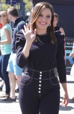 SOPHIA BUSH on the Set of Extra in Los Angeles 06/04/2018