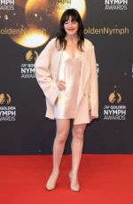 SOPHIE CADIEUX at 58th Monte Carlo TV Festival Closing Ceremony 06/19/2018
