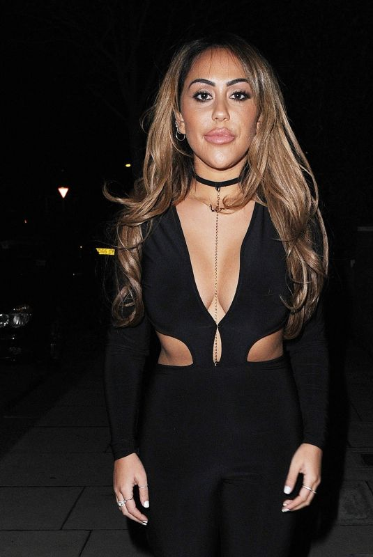 SOPHIE KASAEI Night Out in London 06/04/2018