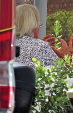 SOPHIE MONK Out for Lunch in Mallorca 06/09/2018