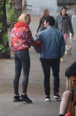 SOPHIE TURNER and Joe Jonas Out for Breakfast in Bondi 06/10/2018