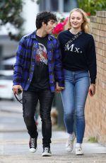 SOPHIE TURNER and Joe Jonas Out in Sydney 06/08/2018