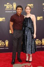 SORCHA GROUNDSELL at 2018 MTV Movie and TV Awards in Santa Monica 06/16/2018