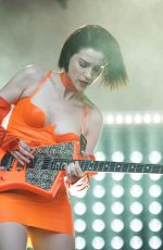 ST VINCENT Performs at All Points East Festival in Victoria Park 06/03/2018