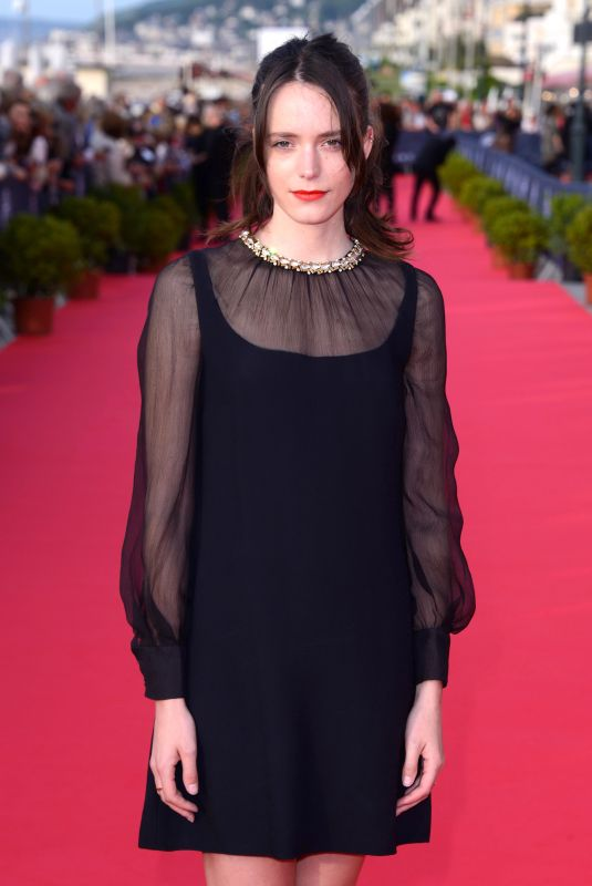 STACY MARTIN at 32nd Cabourg Film Festival 06/15/2018